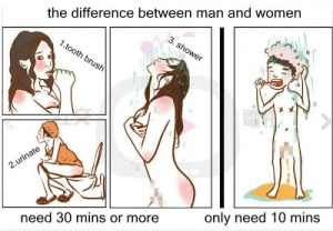 Men-women-shower