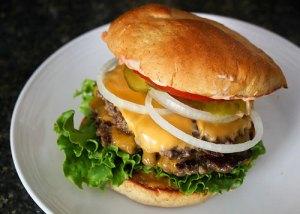 My hamburgers are bigger and juicier