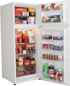 This is not my fridge... it has food in it