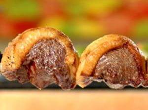 Picanha, a Brazilian cut from the sirloin