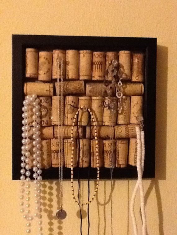 Mini-cork board
