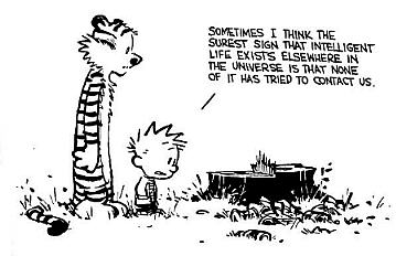 Calvin-intelligent-life