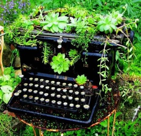 typewriterinthegarden
