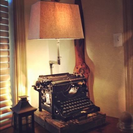 LampTypewriter