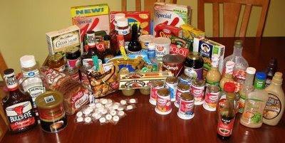 HFCS foods