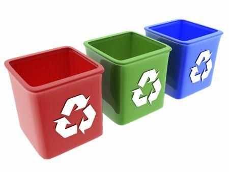Plastic Recycle Bins