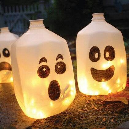 Plastic lanterns