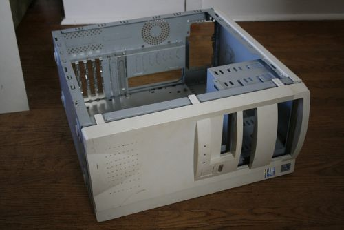 Old PC case